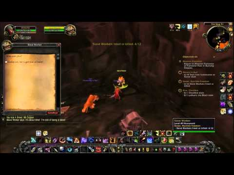 Let's Play World Of Warcraft Part35 Searing Gorge Conga!