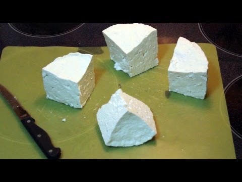 **How to make DIY Hillbilly Feta Cheese
