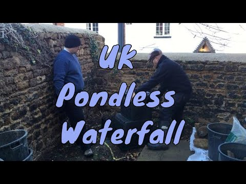 Building a pondless waterfall | Any Pond Limited | UK