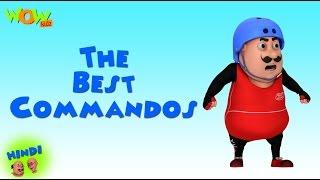 The Best Commandos - Motu Patlu in Hindi - 3D Animation Cartoon for Kids -As on Nickelodeon