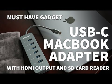 Lenovo USB C Hub Adapter – How to Add USB Port and Memory Card Reader to MacBook Pro