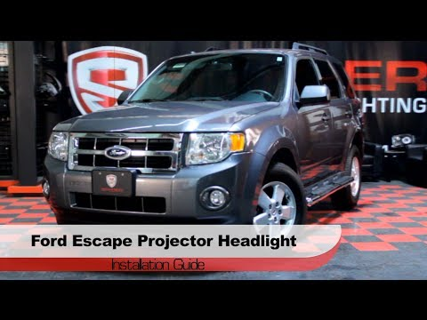Spyder Auto Installation: 2008-12 Ford Escape Halo Projector Headlights