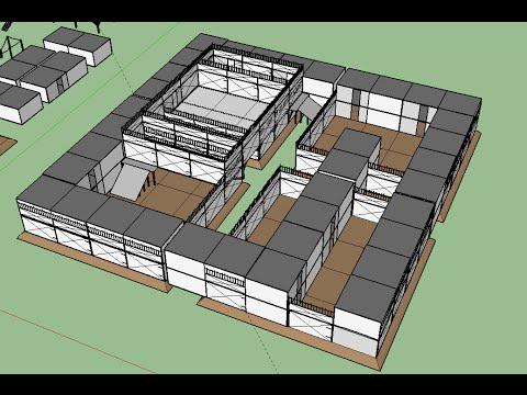 H1Z1 - 4 tamper base design using Sketchup