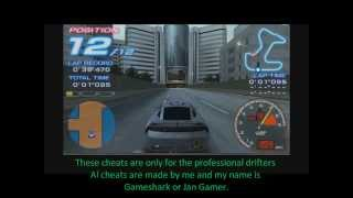 Ridge Racer  Cheats Awesome Baby ( +400kmh)