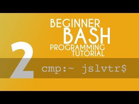 BASH Tutorial - 2 - list files, change directory, and navigation