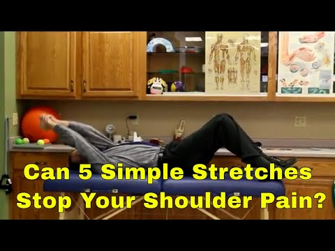 Can 5 Simple Stretches Stop Your Shoulder Pain? How To Tell.