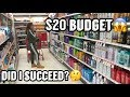 $20.00 HYGIENE SHOPPING BUDGET😱