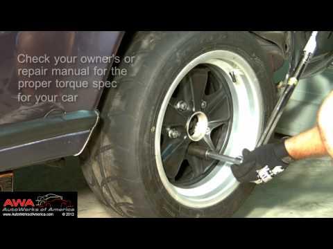 Torque a Wheel Properly | Torque Lug Nuts