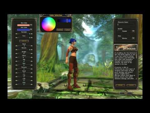 Runes of Magic - Female Character Creation