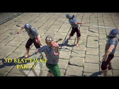 Unity 5 Tutorial 3D Beat 'Em Up Part 2