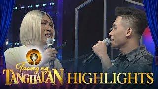 Tawag Ng Tanghalan: Vice Ganda Exchanges Banter With Kevin Lumayao