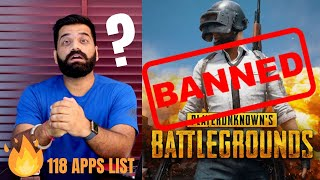 PUBG Banned In India - 118 Apps Ban in India - Full List🔥🔥🔥