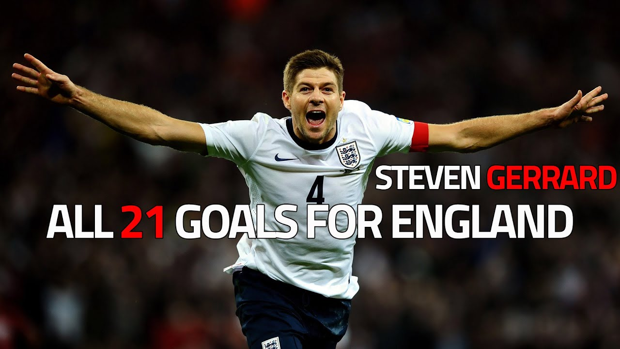 Steven Gerrard ● All 21 Goals for England |HD|