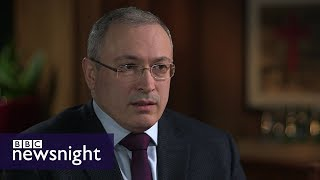 Is Putin a puppet? Interview with Mikhail Khodorkovsky - BBC Newsnight