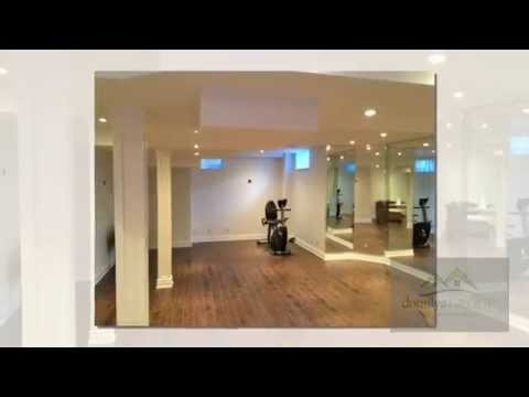 Basement Transformations - Home Gym, Theatre & Dance Studio | domilya GROUP Inc.