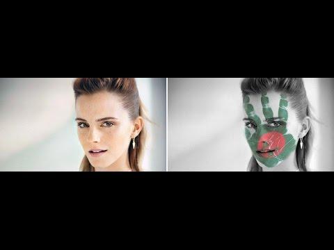 Face paint Photoshop tutorial