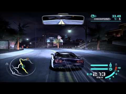 Need For Speed: Carbon - Race #52 - Troy (Checkpoint)