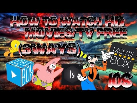 NEW - How To Watch HD Movies/TV FREE on iOS iPhone,iPod & iPad (3 Ways) No jailbreak/pc Playbox HD