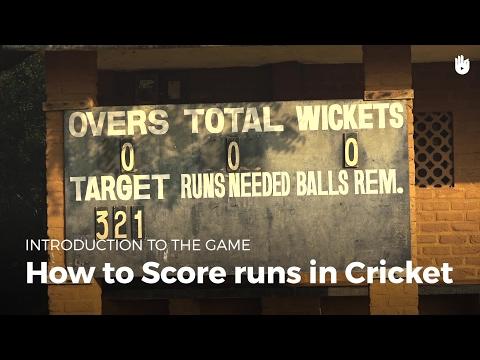 How to Score Runs | Cricket