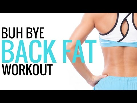 Workouts for Women - Exercises for Back Fat - Christina Carlyle