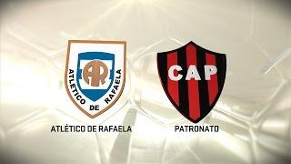 Fútbol en vivo. Rafaela vs. Patronato. Fecha 14. Torneo de Primera División 2016/2017. FPT