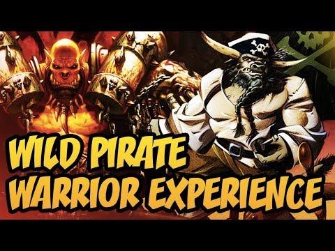 Hearthstone: Wild Pirate Warrior Experience