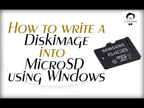 How to write a openelec DiskImage into MicroSD using Windows [DIYeverytime]