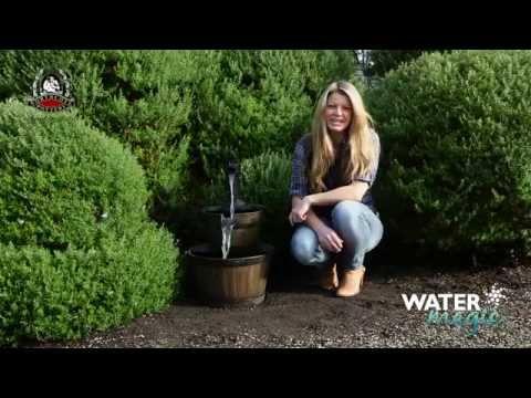 Oakden Barrel Fountain Installation Video