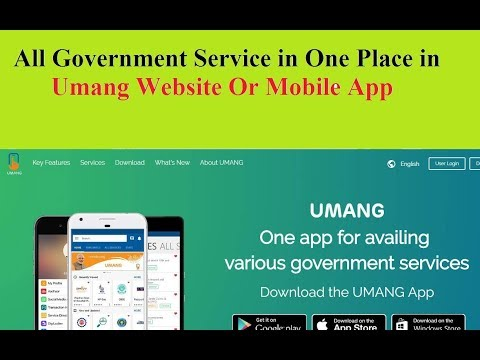 All Government Service in One Place in Umang Website Or Mobile App