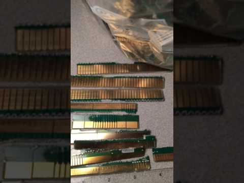 4 LBS 1oz of mostly Server/ ISA finger boards Higher Gold Yeilds found at Cyberinfinity on Ebay