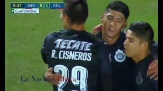 Necaxa 1-3 Chivas J03 Clausura 2018