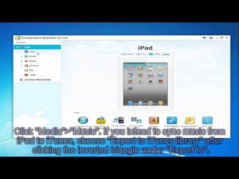 How to Transfer Music and Videos from iPad to iTunes/PC