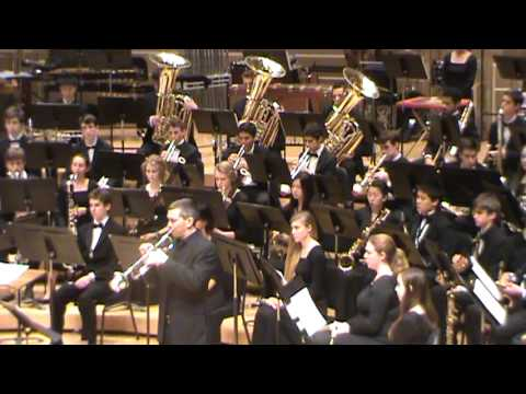 Samohi Wind Ensemble at Chicago Symphony Hall Concerto for Trumpet with Chris Martin