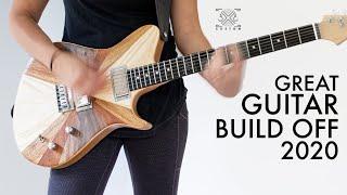Great Guitar Build Off 2020 Entry - Sunburst Veneer Experiment