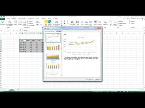 Creating Stock Chart in MS Excel