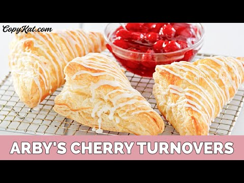 Arby's Cherry Turnovers