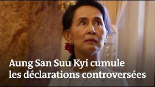 Aung San Suu Kyi cumule les déclarations controversées