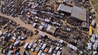 The Largest Car Graveyard You've Ever Seen