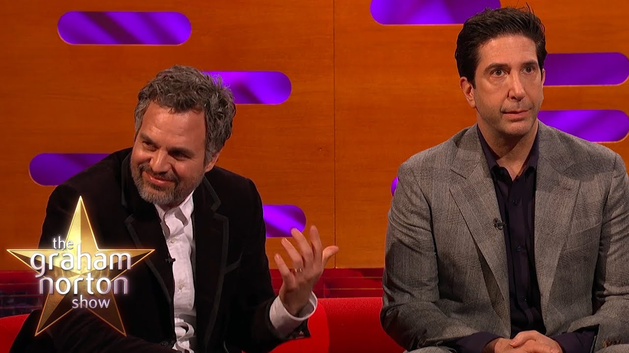David Schwimmer WILL NOT Forgive Mark Ruffalo For Not Seeing Friends | The Graham Norton Show