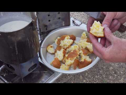 Biscuits And Gravy A Quick & Easy River Guide's Method. Camping Breakfast + Aeropress Coffee