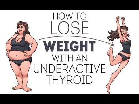 HOW TO LOSE WEIGHT WITH AN UNDERACTIVE THYROID - how to diet with an underactive thyroid