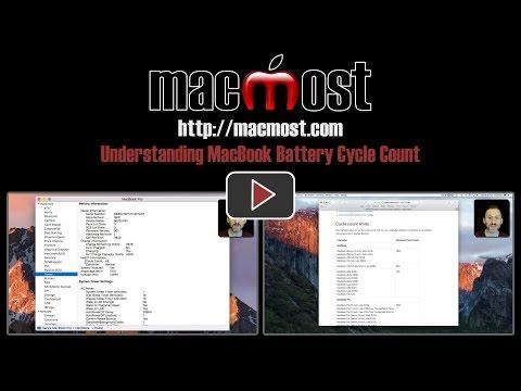 Understanding MacBook Battery Cycle Count (#1390)