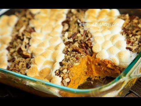 Sweet Potato Casserole Recipe (4K)