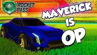 Rocket Pass / Maverick is OP | Rocket League Montage