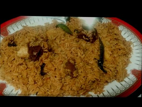 Pulao from left over salan