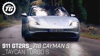 Best of Porsche: 911 GT2RS, Taycan Turbo S, 718 Cayman S | Top Gear