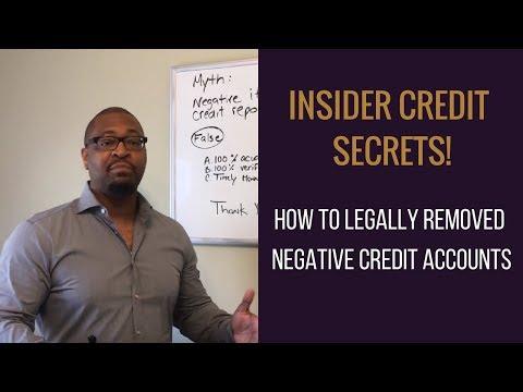Insider Credit Secrets!