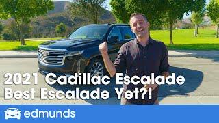 2021 Cadillac Escalade Review — All-New SUV | Interior, Price, & More