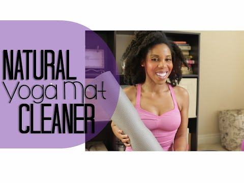 How to: Natural Yoga Mat Cleaner