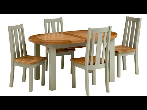 Houghton Painted 160-200cm Extending Round Table - PineSolutions